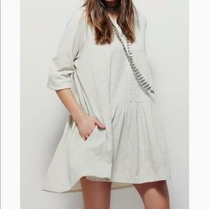{Free People} Beach Button Up Dress